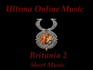 Thumbnail Ultima Online - Britania 2 Sheet Music
